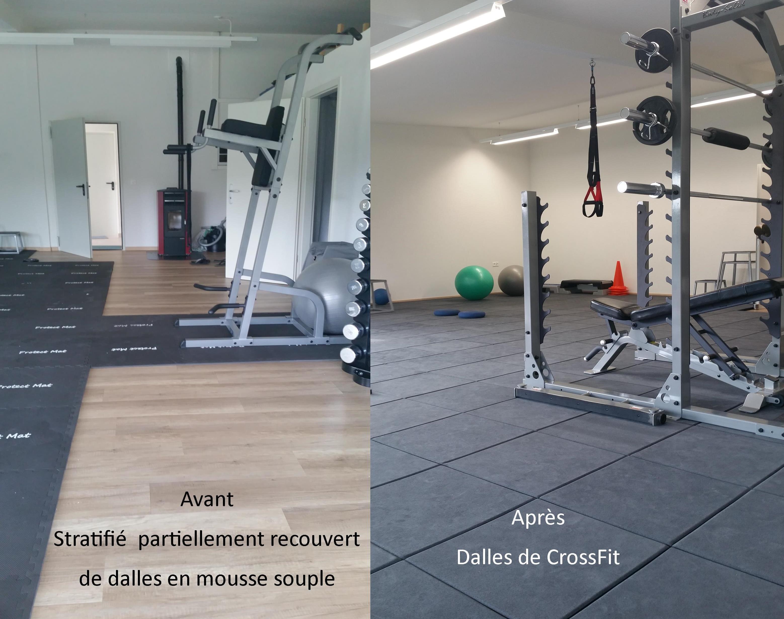 Sol Pour Salle De Sport crossfit